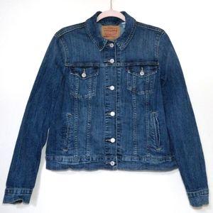 Levi's Women's Original Denim Trucker Jacket XL